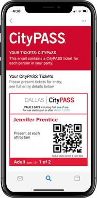 Dallas Ticket