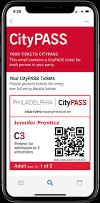 Philadelphia Ticket