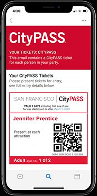 San Francisco Ticket