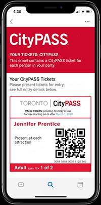 Toronto Ticket